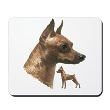 miniature pincher min pin Mousepad