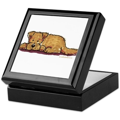 Little Dog Keepsake Box