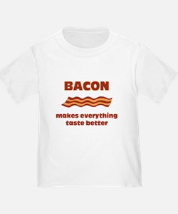 Bacon makes Everything Taste T