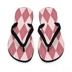 Go Pink Flip Flops