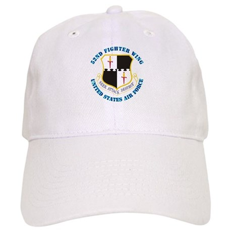 52nd Fighter Wing with Text Cap
