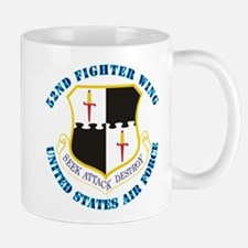 52nd Fighter Wing with Text Mug