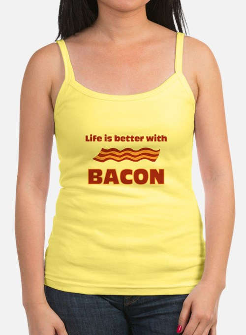 Life Is Better With Bacon Jr.Spaghetti Strap