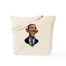Obama Caricature Tote Bag