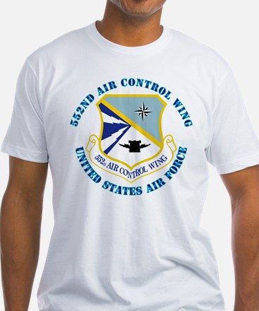 552nd Air Control Wing with Text Shirt