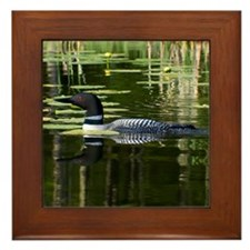 Loon Framed Tile