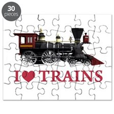 I LOVE TRAINS Puzzle