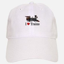 I LOVE TRAINS Cap
