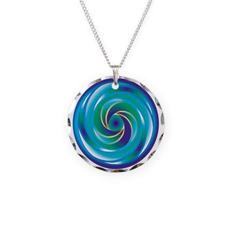 crop circle necklace circle charm by jeremytaylorgraphics