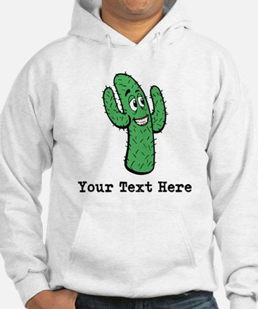 Desert Cacti. Custom Text. Jumper Hoody