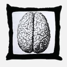 Brain II Throw Pillow