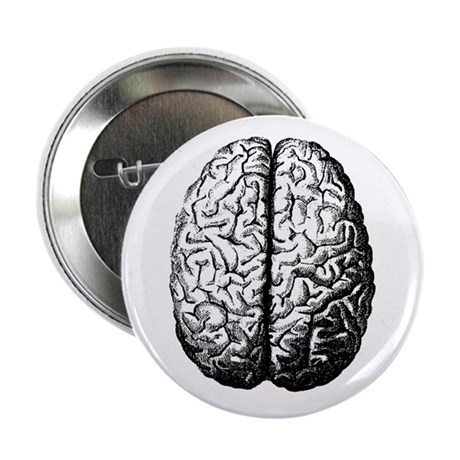 "Brain II 2.25"" Button (10 pack)"