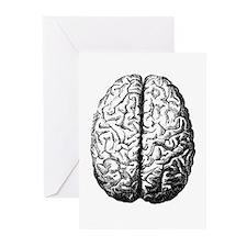 Brain II Greeting Cards (Pk of 10)