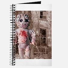 Scary Nigel doll Journal