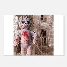 Scary Nigel doll Postcards (Package of 8)