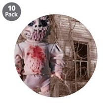 """Scary Nigel doll 3.5"""" Button (10 pack)"""