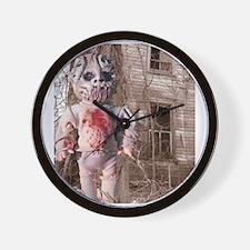 Scary Nigel doll Wall Clock