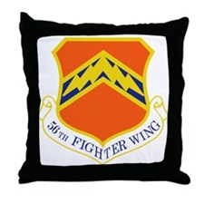 56th Fighter Wing Throw Pillow