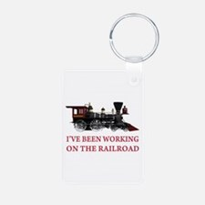 I've Been Working on the Railroad Keychains