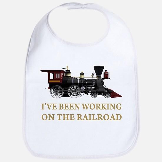 I've Been Working on the Railroad Bib