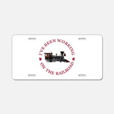 I've Been Working On The Ra Aluminum License Plate