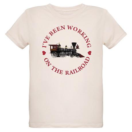 I've Been Working On The Rail Organic Kids T-Shirt
