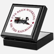 I've Been Working On The Railroad Keepsake Box