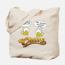 Cheers Norm One-Liner Tote Bag