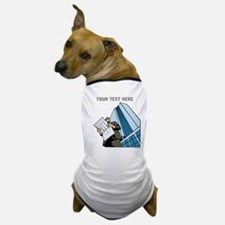 City Worker Man. Your Text. Dog T-Shirt
