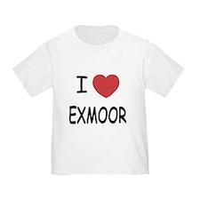 I heart exmoor T