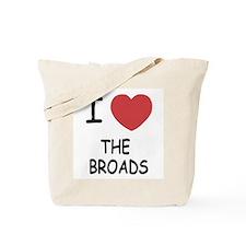 I heart the broads Tote Bag
