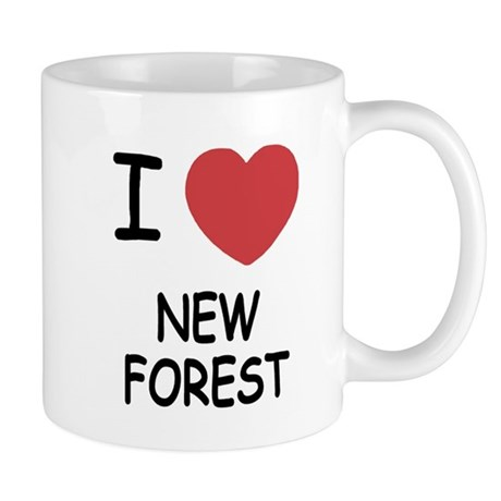 I heart new forest Mug