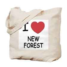 I heart new forest Tote Bag