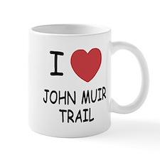 I heart john muir trail Mug