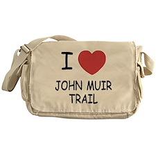 I heart john muir trail Messenger Bag