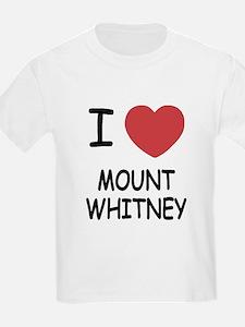 I heart mount whitney T-Shirt