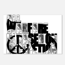 The Art of War Postcards (Package of 8)