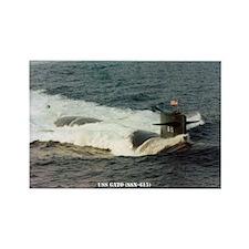 USS GATO Rectangle Magnet