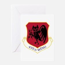 432nd Wing Greeting Card
