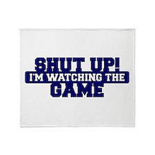 Shut Up! I'm watching the game (Navy) Stadium Bla