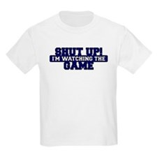 Shut Up! I'm watching the game (Navy) T-Shirt