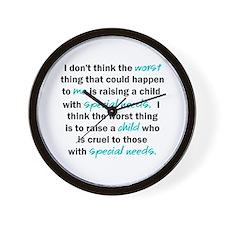 I Dont Think Wall Clock