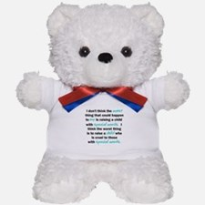 I Dont Think Teddy Bear