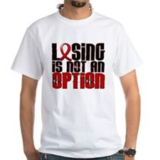 Losing Is Not An Option AIDS Shirt