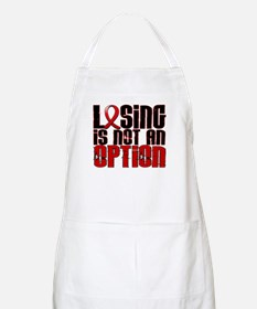 Losing Is Not An Option AIDS Apron