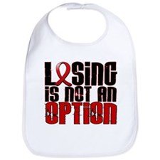 Losing Is Not An Option AIDS Bib