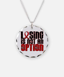 Losing Is Not An Option AIDS Necklace