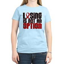 Losing Is Not An Option AIDS T-Shirt