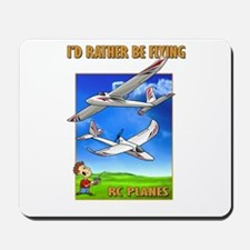 Sky Surfer Rather Be Flying Mousepad