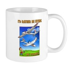Sky Surfer Rather Be Flying Mug